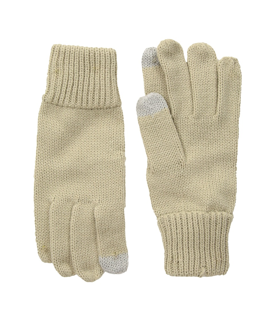 Hat Attack Basic Texting Gloves (Oat) Extreme Cold Weather Gloves