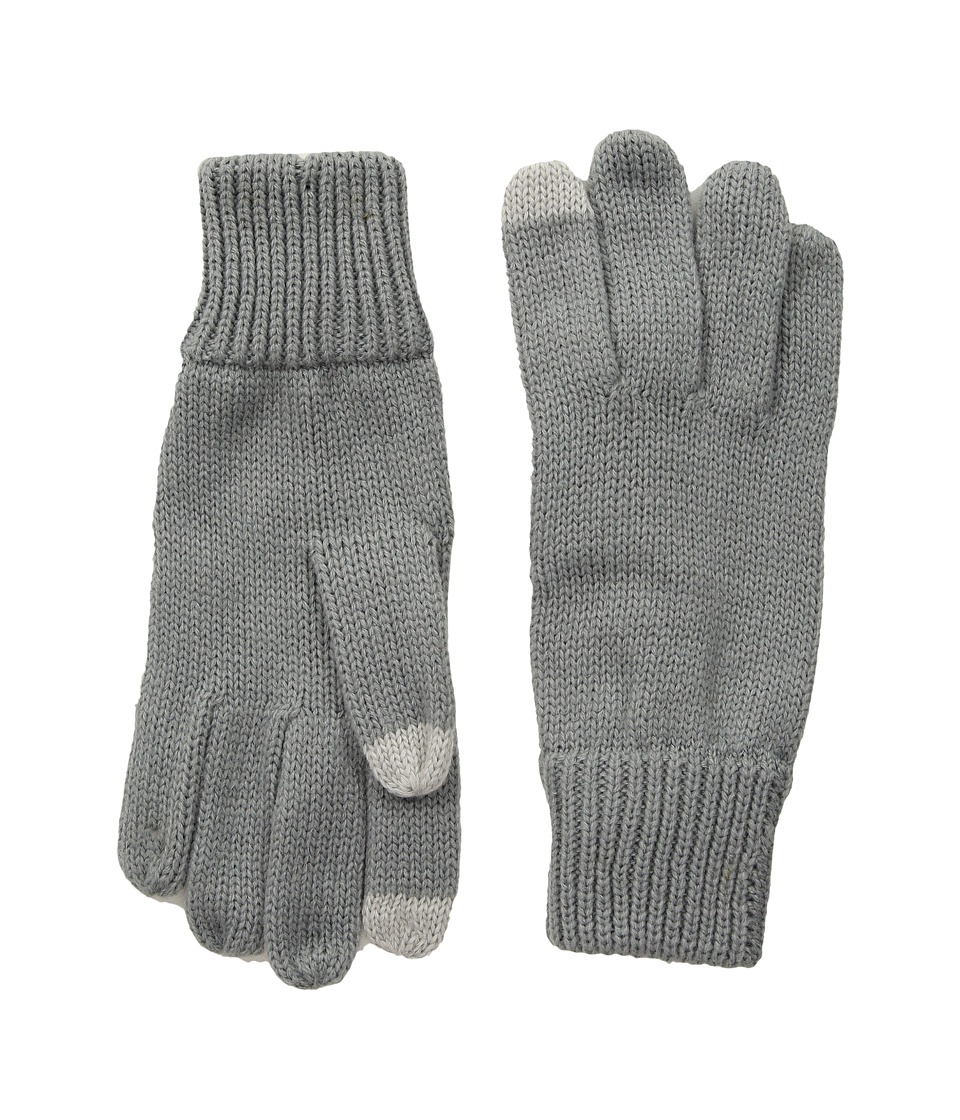 Hat Attack Basic Texting Gloves (Grey) Extreme Cold Weather Gloves
