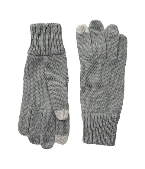 Hat Attack Basic Texting Gloves - Grey