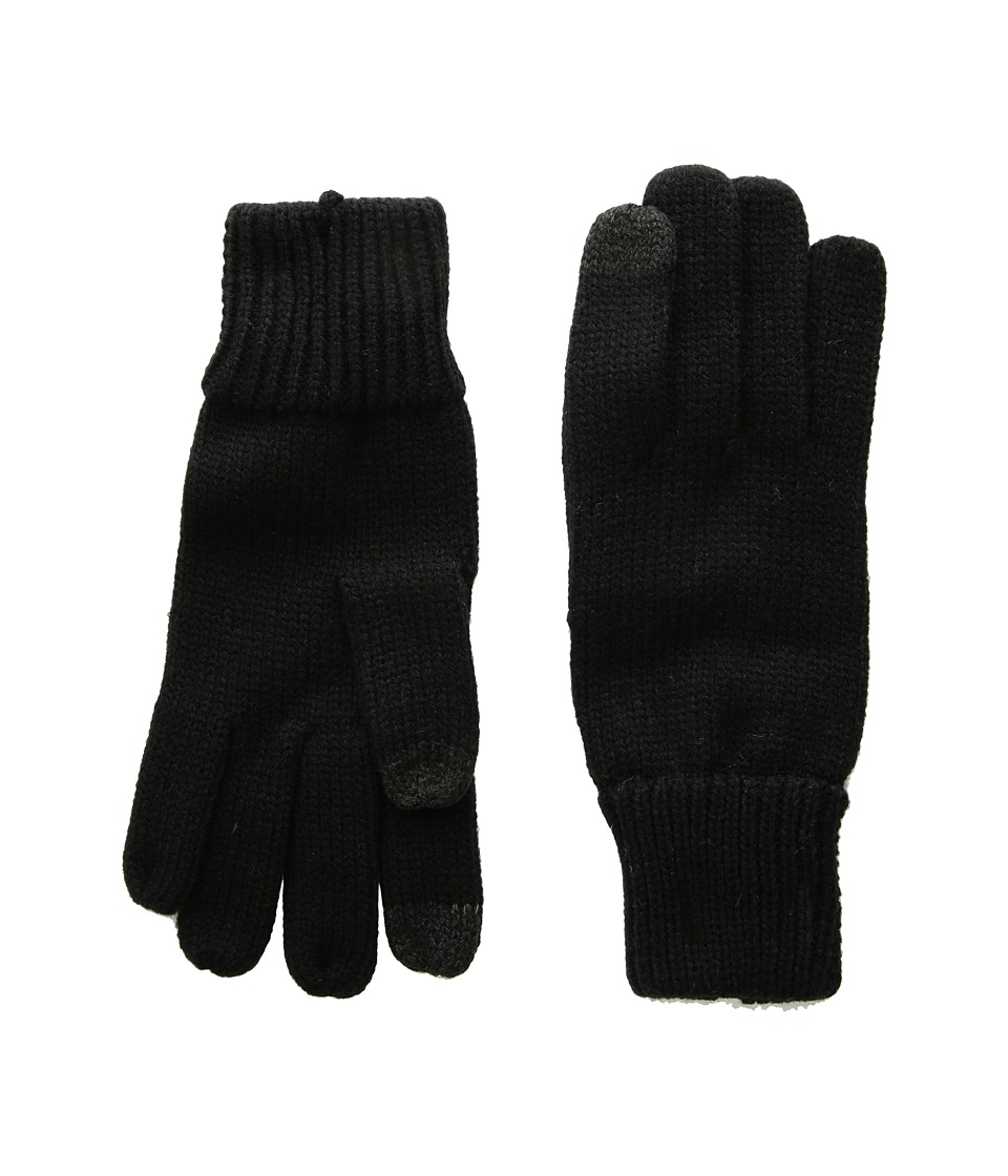 Hat Attack Basic Texting Gloves (Black) Extreme Cold Weather Gloves