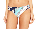 Trina Turk Electric Wave Shirred Side Hipster