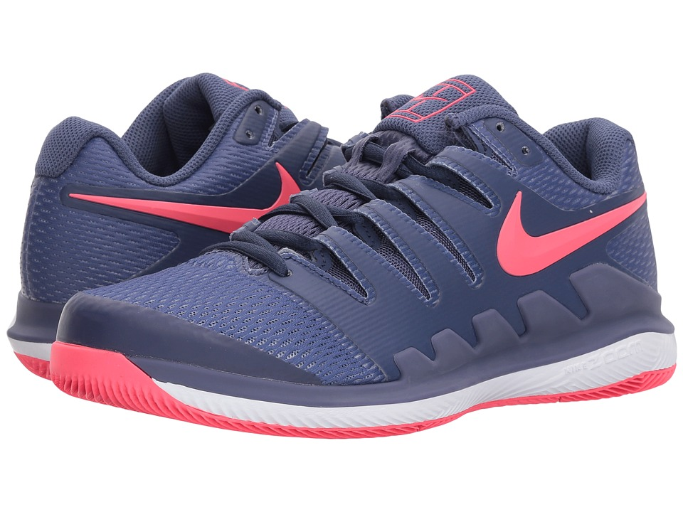 Nike Air Zoom Vapor X (Blue Recall/Racer Pink/White) Wome...