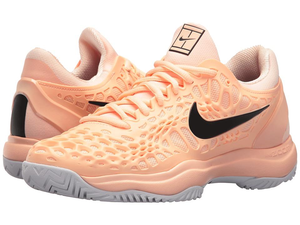 247e2d94c677 Nike - Zoom Cage 3 HC (Crimson Tint-Black-White) Womens Tennis Shoes on  Fantastic Toe