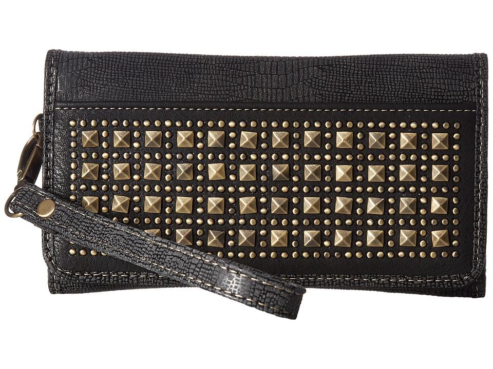 M&F Western - Avril Clutch (Grey) Clutch Handbags