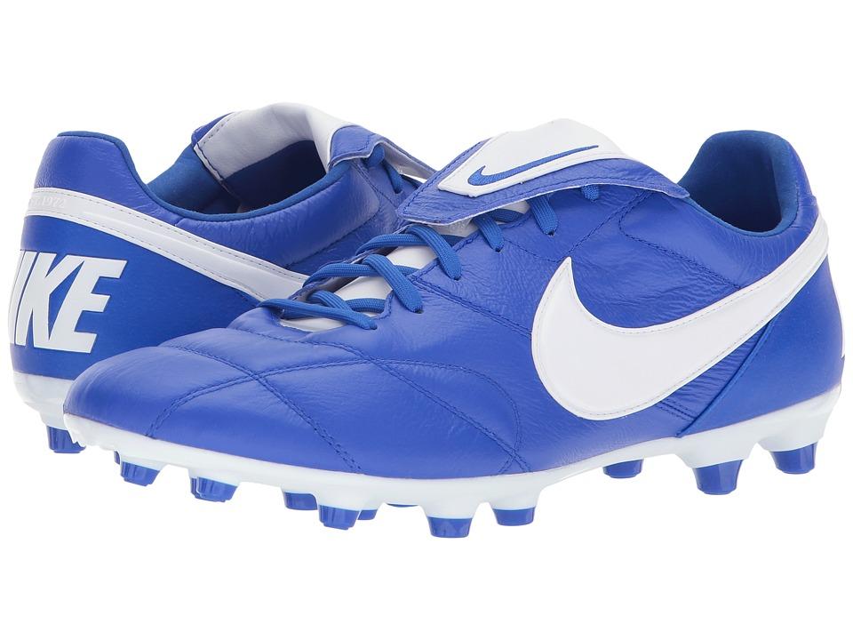 Nike Premier II FG (Racer Blue/White/Racer Blue) Men's So...