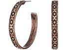 M&F Western Aztec Hoop Earrings