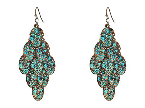 M&F Western Patina Dangle Earrings - Patina