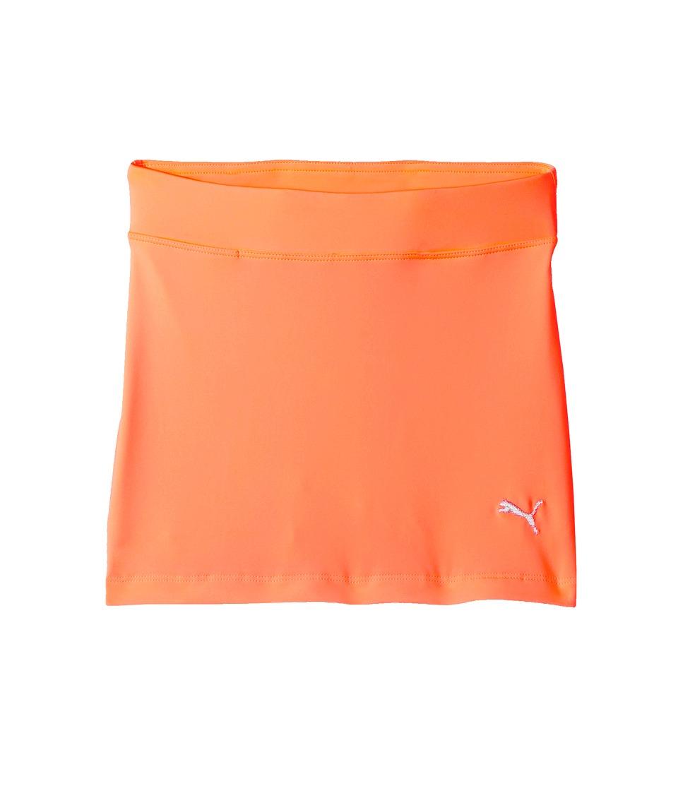 PUMA Golf Kids - Solid Knit Skirt (Big Kids) (Energy Peach) Girls Skirt