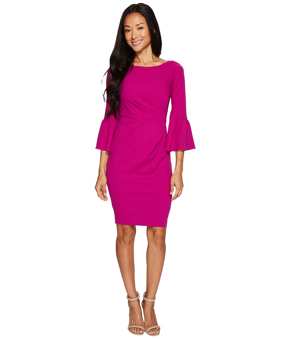 Adrianna Papell Adrianna Papell - Petite Knit Crepe Sheath Dress