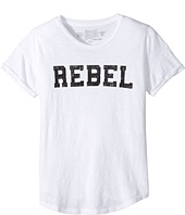 The Original Retro Brand Kids - Rebel Short Sleeve Slub Cotton Tee (Big Kids)