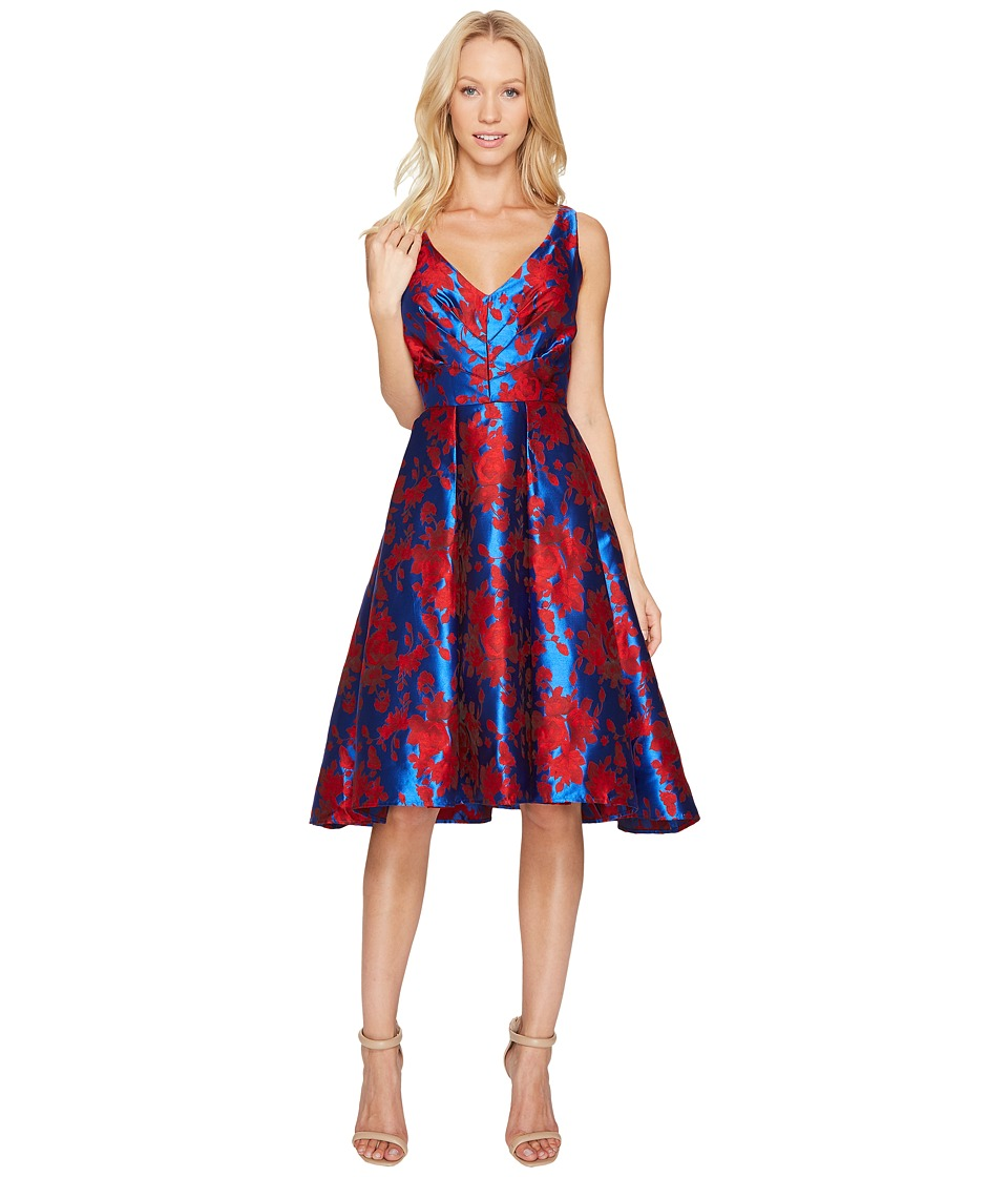 Eva by Eva Franco Zander Dress (Blue/Red) Women