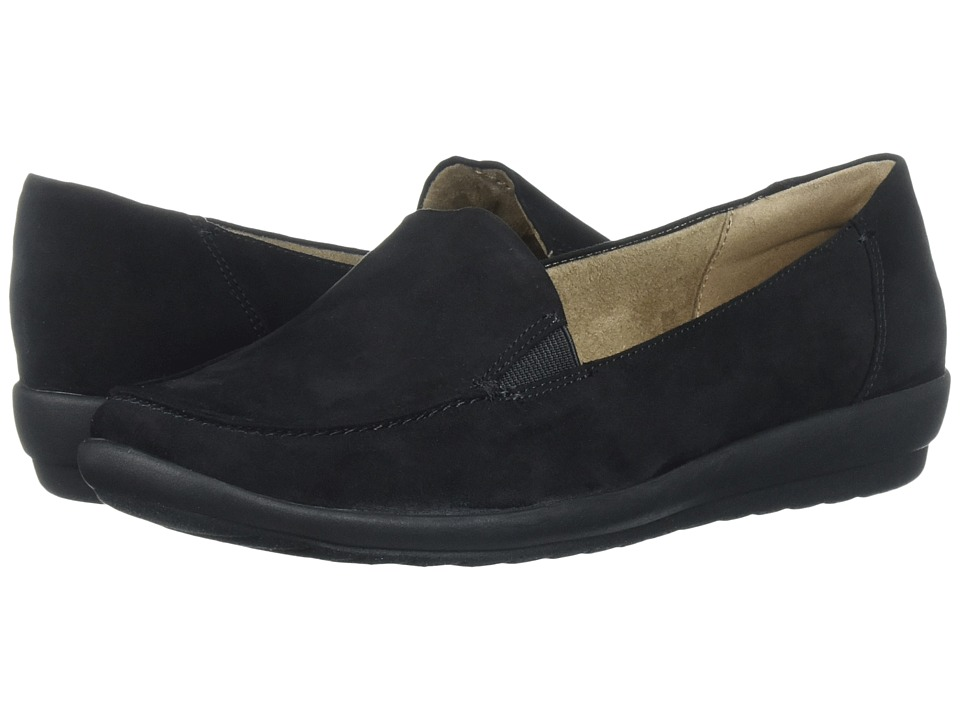 Easy Spirit Adriane (Black/Black Fabric) Women