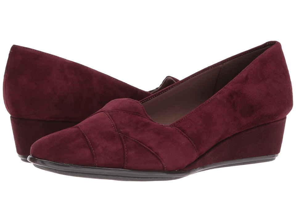 Easy Spirit Arysta (Wine Suede) Women