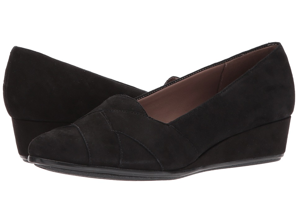 Easy Spirit Arysta (Black Suede) Women