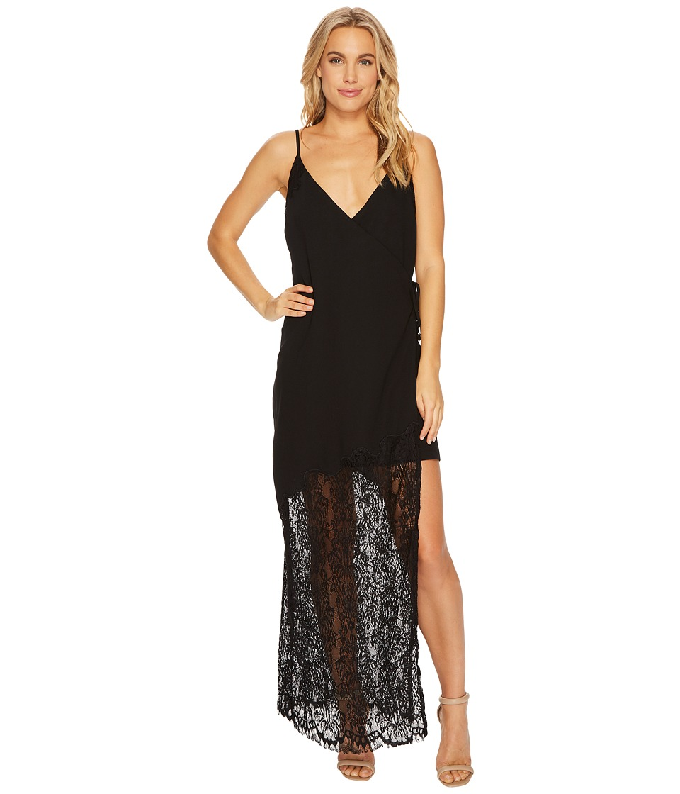 Adelyn Rae - Lola Maxi Slip Dress (Black) Womens Dress