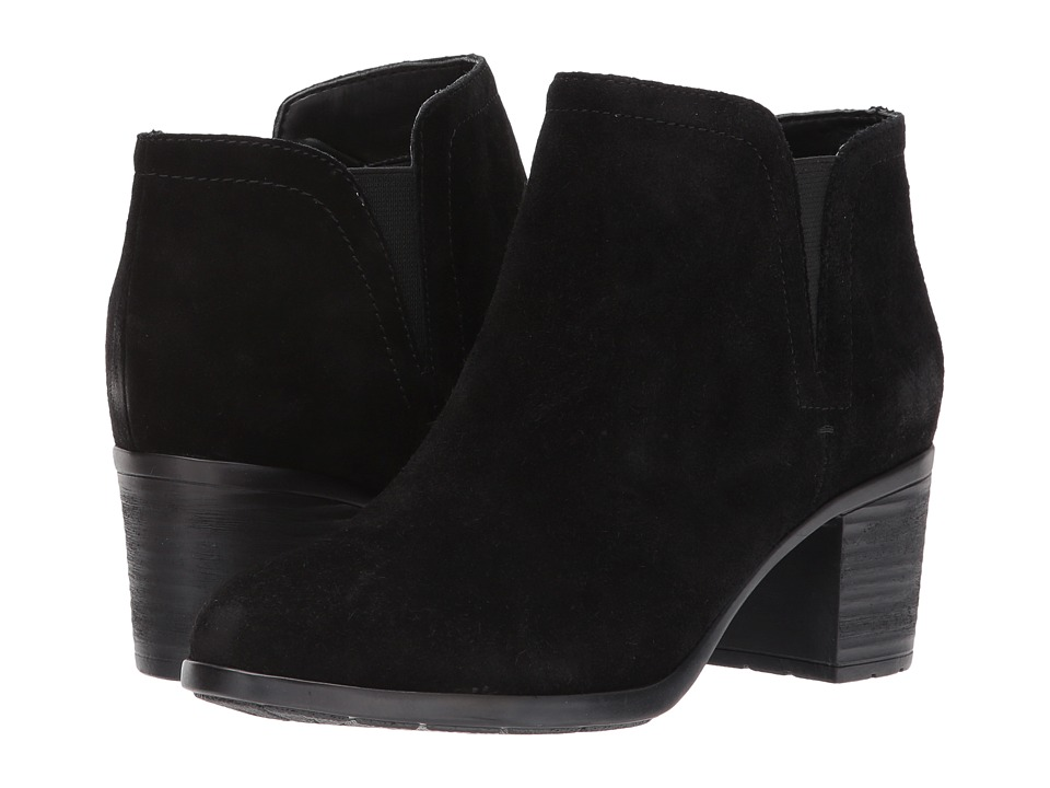 Easy Spirit Belnin (Black/Black Suede) Women