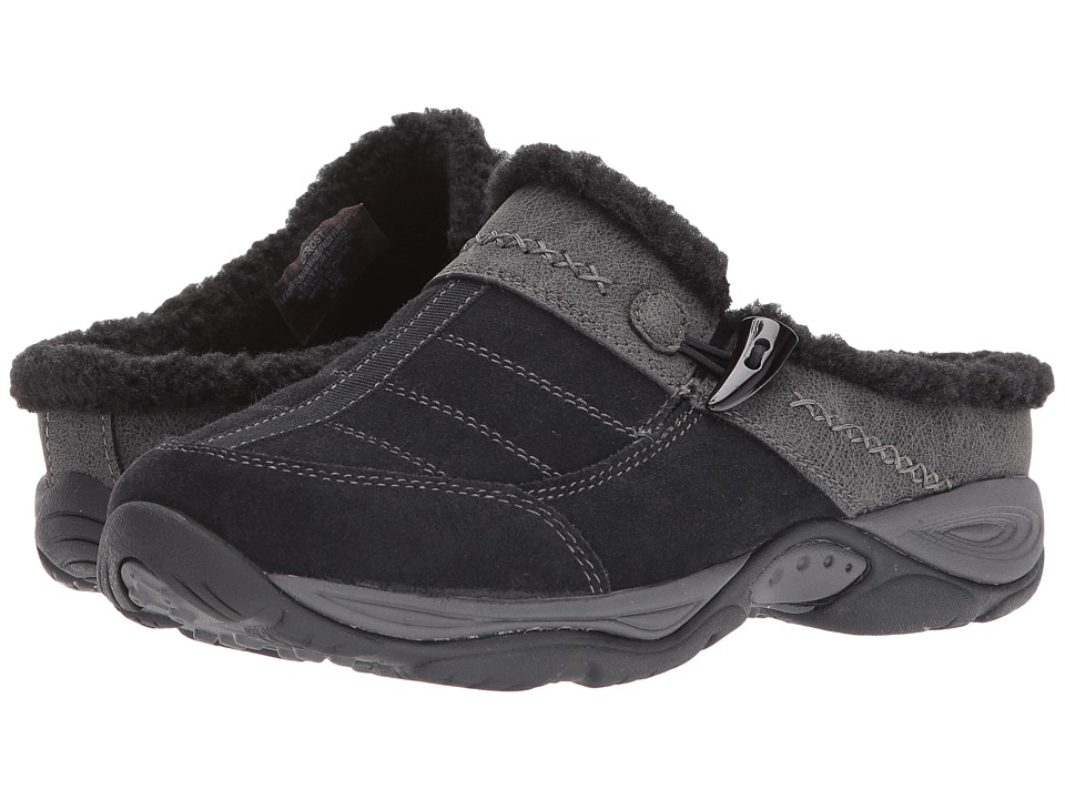 Easy Spirit Efrost (Black/Navy Suede) Women