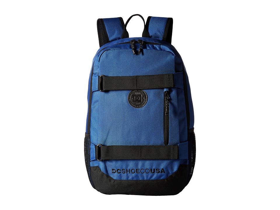 DC Clocked (Washed Indigo) Backpack Bags