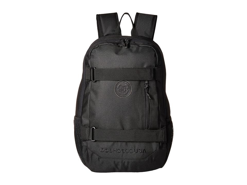DC Clocked (Black) Backpack Bags
