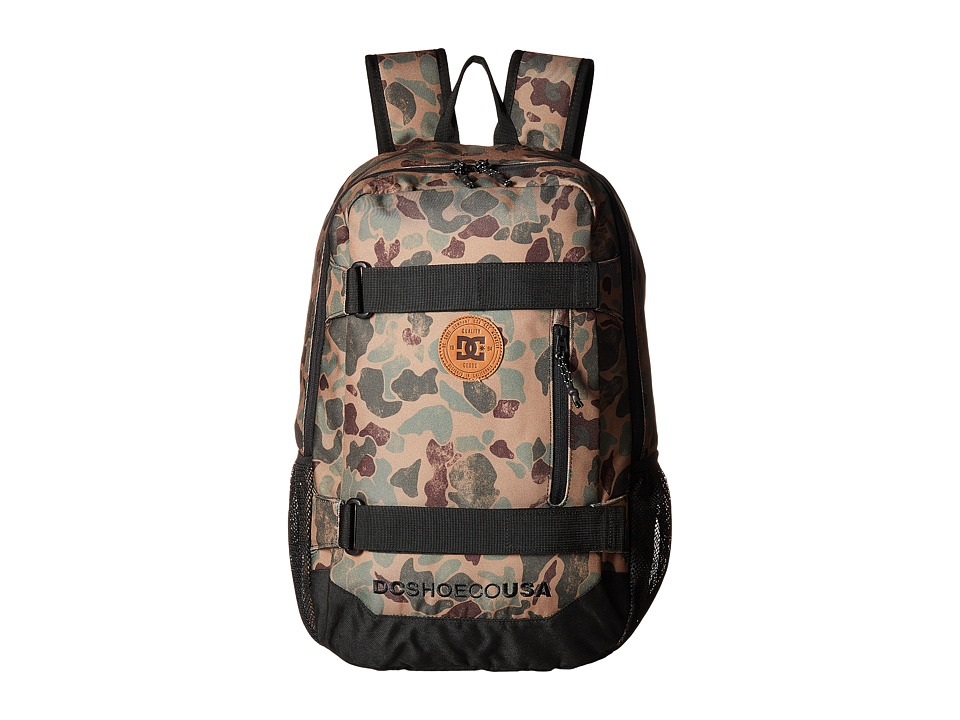 DC Clocked (Duck Camo) Backpack Bags