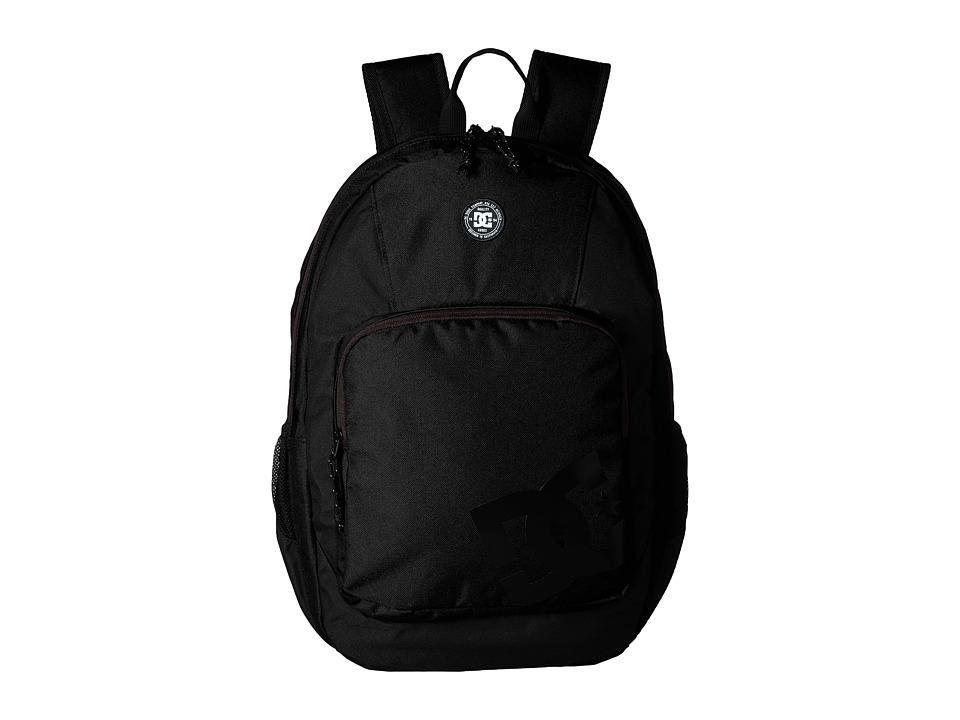 DC The Locker Backpack (Black) Backpack Bags