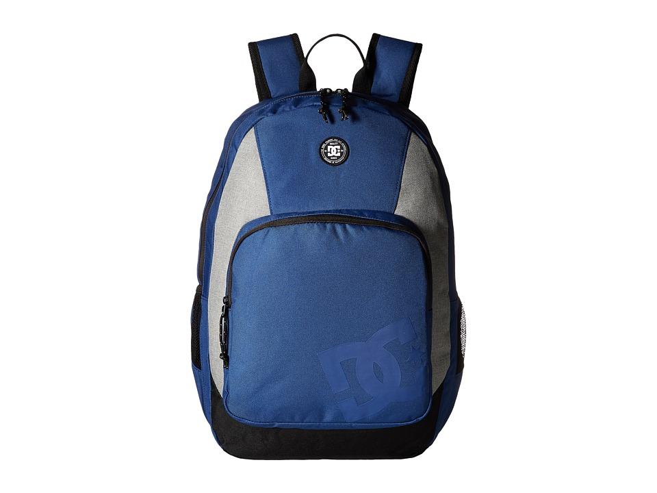 DC The Locker Backpack (Washed Indigo) Backpack Bags