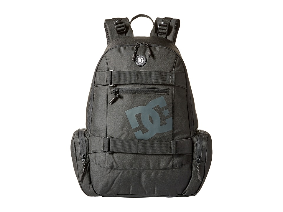 DC The Breed Backpack (Black) Backpack Bags