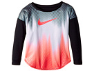 Nike Kids Gradient Morph Dri-FIT Long Sleeve Tee (Toddler)