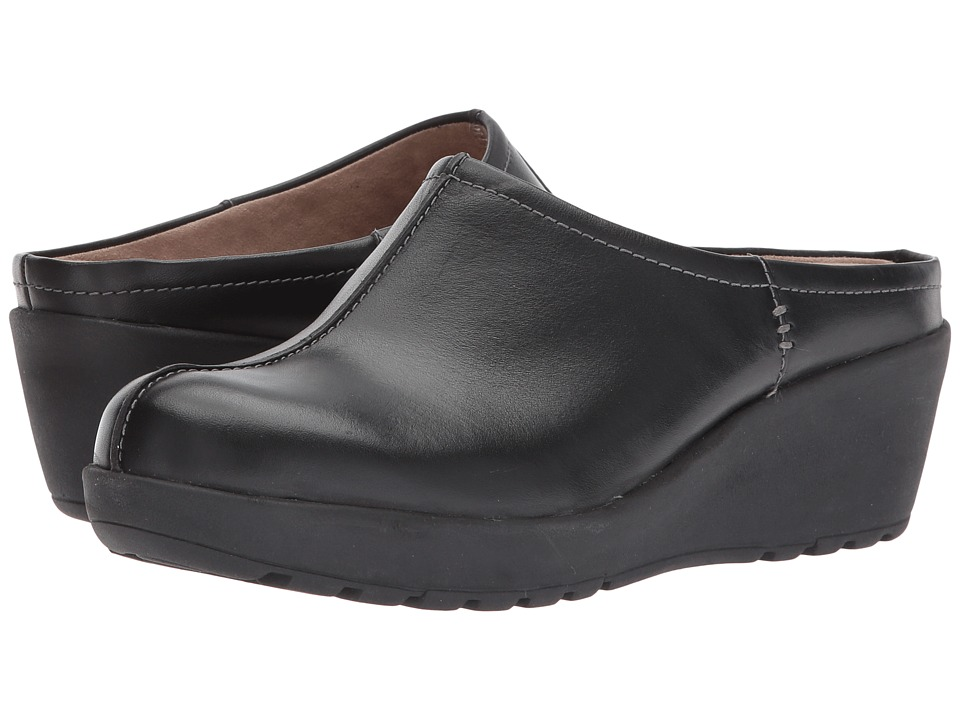 Easy Spirit Jaiva (Black Leather) Women