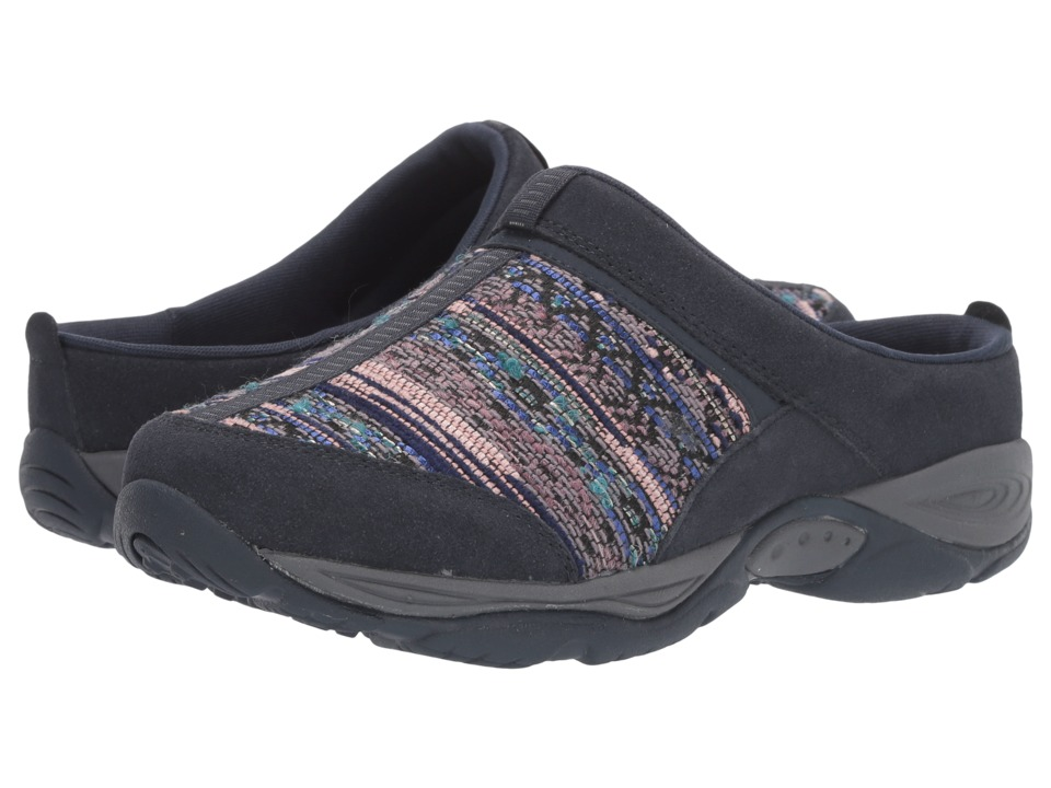 Easy Spirit Ezcool (Navy Multi Combo Suede) Women