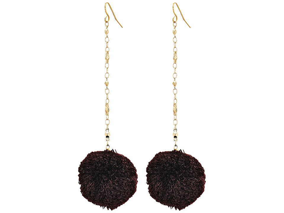 Vanessa Mooney - The Jude Earrings (Black) Earring