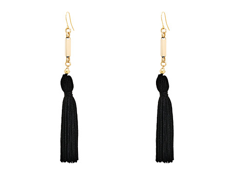 Vanessa Mooney The Natalia Tassel Earrings - Black