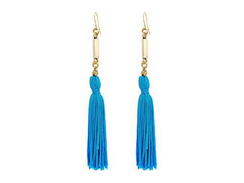 Vanessa Mooney The Natalia Tassel Earrings - Blue