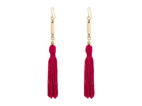 Vanessa Mooney The Natalia Tassel Earrings - Pink