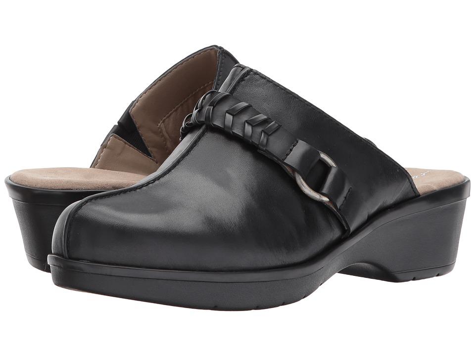 Easy Spirit Pierson (Black Multi Leather) Women