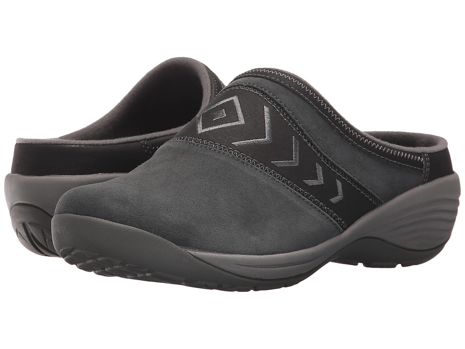 Easy Spirit Ikatta (Dark Grey/Black Suede) Women