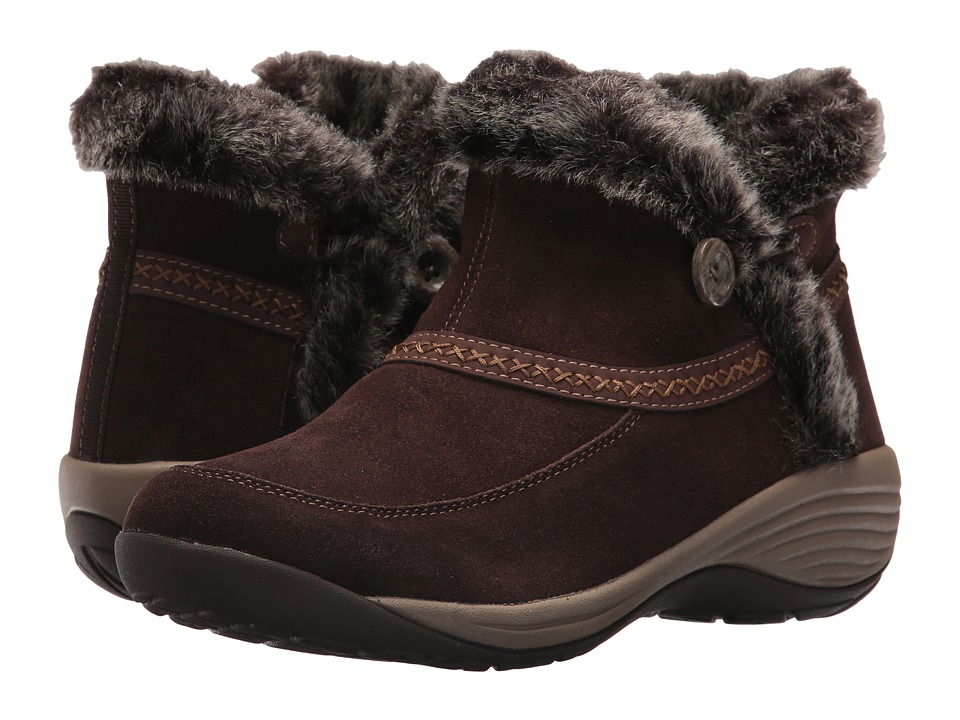 Easy Spirit Icerink (Brown Multi Suede) Women