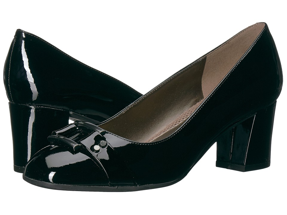 Easy Spirit - Roldana (Black Patent) Womens Shoes