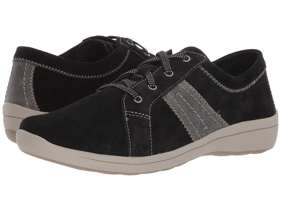 Easy Spirit Litesprint (Black/Dark Grey Suede) Women