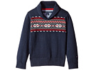 Tommy Hilfiger Kids Fair Isle Sweater (Toddler/Little Kids)