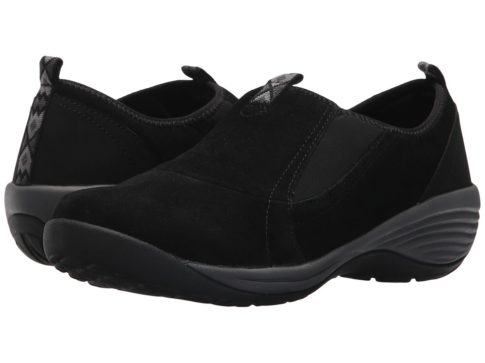Easy Spirit Isie (Black Multi Suede) Women