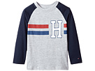 Tommy Hilfiger Kids Horizontal Stripe-Bex Jersey Long Sleeve Tee (Toddler/Little Kids)