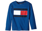 Tommy Hilfiger Kids Tommy Flag-Bex Jersey Long Sleeve Tee (Toddler/Little Kids)