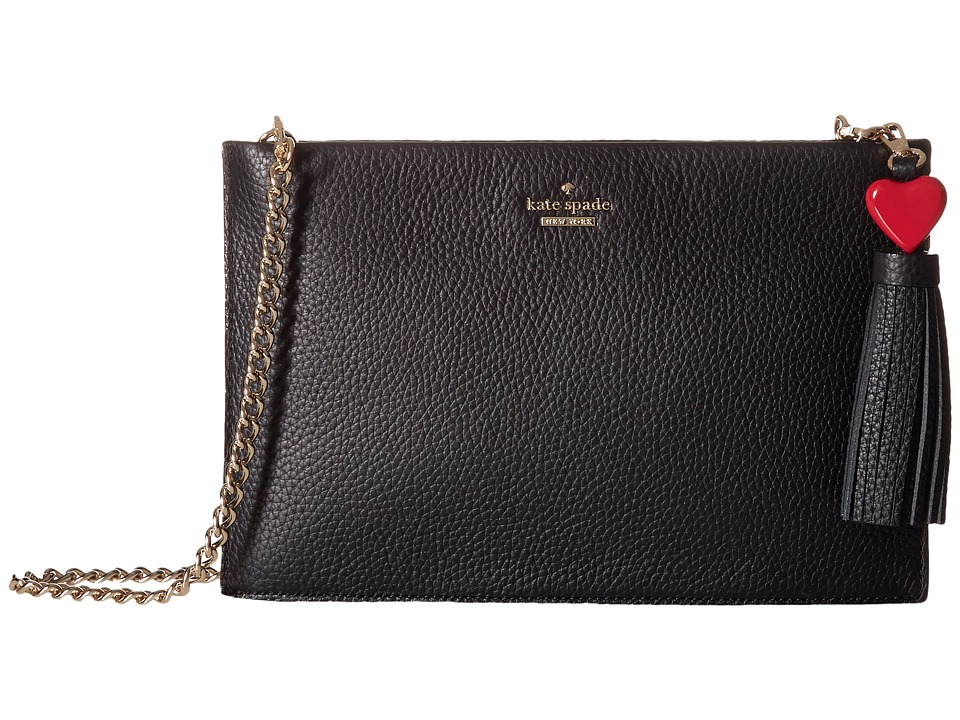 Kate Spade New York - Yours Truly Heart Sima (Black Multi...