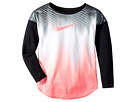 Nike Kids Gradient Morph Dri-FIT Long Sleeve Tee (Little Kids)