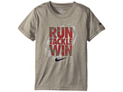 Nike Kids Run Tackle Win Dri-FIT Tee (Little Kids)