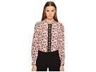 Kate Spade New York Small Blooms Silk Shirt