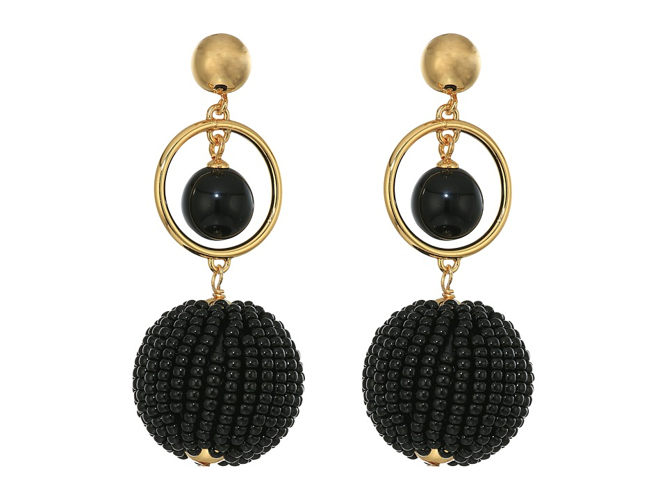 Kate Spade New York - Beads and Baubles Drop Earrings (Bl...