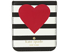 Kate Spade New York Heart Stripe Sticker Pocket
