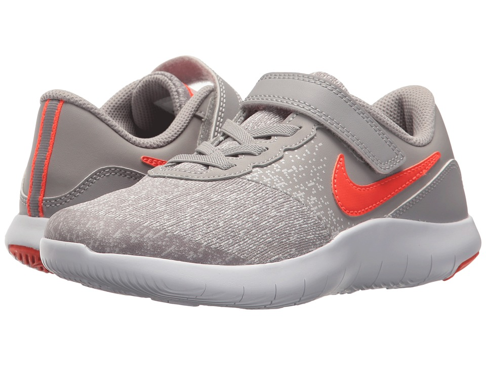 Nike Kids Flex Contact (Little Kid) (Atmosphere Grey/Total Crimson/Vast Grey) Boys Shoes
